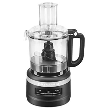 KitchenAid KFP0718BM Food Processor, 7 cup, Black Matte