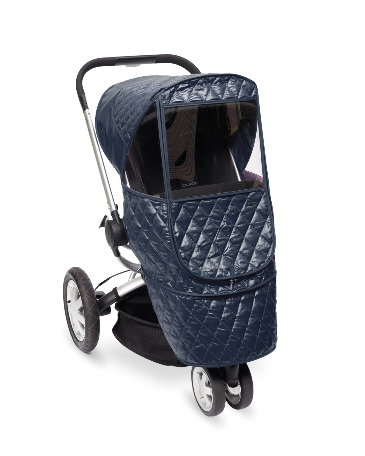 Manito Castle Beta Stroller Weather Shield (Navy) by Manito (Image #1)