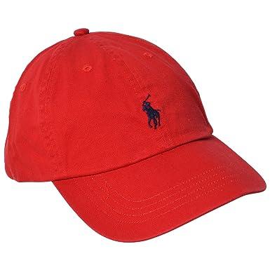 Polo Ralph Lauren Men Pony Logo Adjustable Hat Cap (One size 2aa20ccf8a1