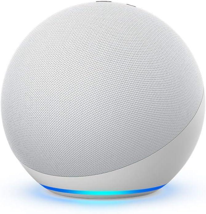 All-new Echo (4th Gen) Smart Speaker - Glacier White