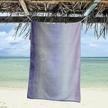 eLuxurySupply Gran Tamaño Toallas de Playa de 100% Hilados de Algodón Teñido | 1 Gigante Toalla de Playa (Más de 5 pies de Largo: Amazon.es: Hogar