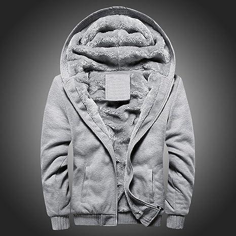 Amazon.com: Fleece Coat Hurrybuy Mens Hoodie Winter Warm Zipper Sweater Jacket Outwear Blue: Clothing
