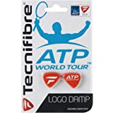 Pack of 2 Tecnifibre Logo Damp Tennis Vibration Absorbers Blue Red