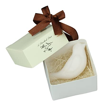 Sodialr Love Bird Shape Scented Soap For Wedding Party Favors Gift