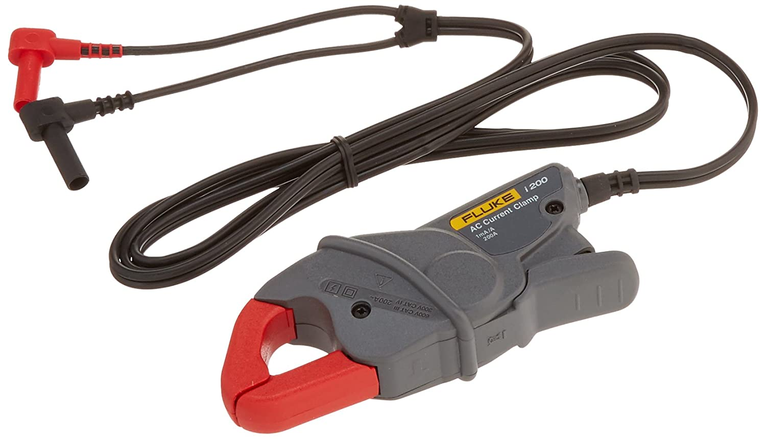 Fluke I200 AC Current Clamp, 600V AC Voltage, 200A AC Current: Fluke  Multimeter: Amazon.com: Industrial & Scientific