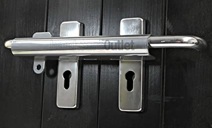 looks nice and neat and strong CONSERVATORY PATIO DOUBLE DOOR LOCK BAR