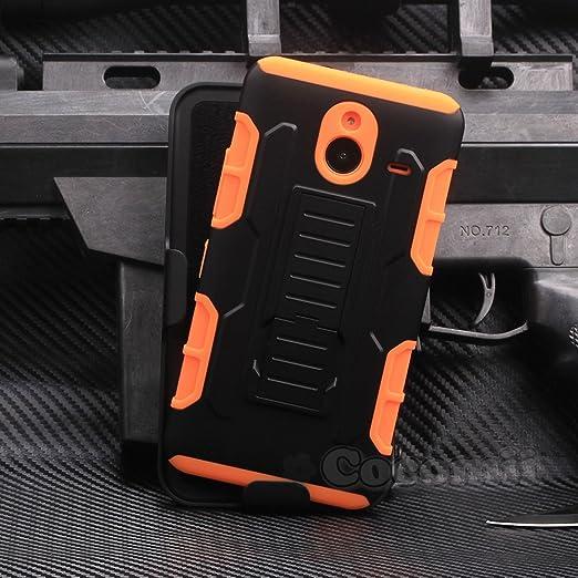 30 opinioni per Nokia Lumia 640 XL Custodia, Cocomii Robot Armor NEW [Heavy Duty] Premium Belt