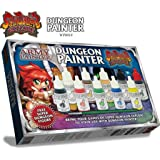 Warpaints: Dungeon Painter - The Army Painter ( Super Dungeon Explore ) W/Mini