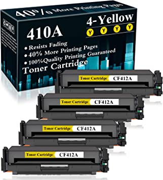 1 Pack 410A CF411A Toner Cartridge Replacement for HP Color Laserjet Pro MFP M477fdn M477fdw M477fnw M452dn M452dw M452nw MFP M377dw Printer,Sold by TopInk