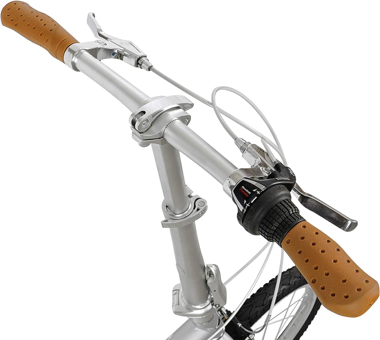 FabricBike Folding Bicicleta Plegable Cuadro Aluminio Ruedas 20 3 Colores