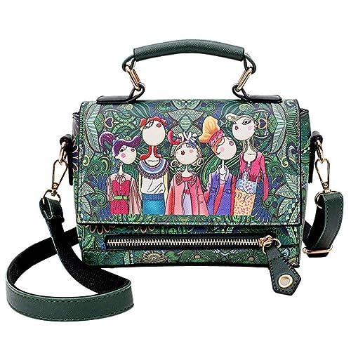 ALIKEEY 2018 ♈ Bolso Del Bolso De Hombro Las Mujeres Forest Pattern Solo L21 Femenino Ocasional La Hebilla TóTem Muchacha Bosque Cuelga Louis Vuitton ...