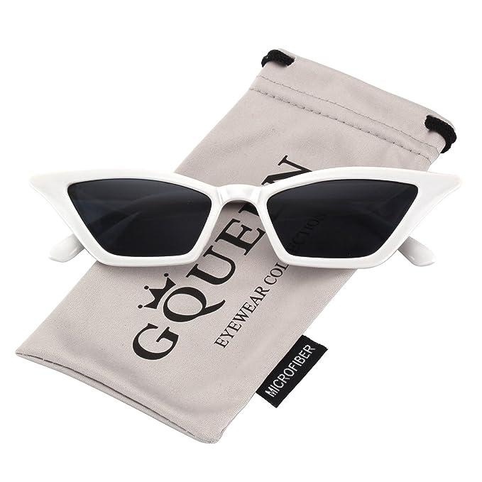 4039ae667a GQUEEN Gafas Vintage Clout Lentes de sol tipo ojo de gato Estilo a la moda  y con protección UV lentes tipo Kurt Cobain, GQS8: Amazon.es: Ropa y  accesorios
