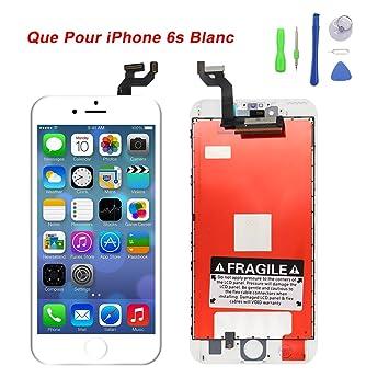 be89df24f44446 Ecran pour iPhone 6s lcd vitre ecran tactile remplacement avec réparation  d outils montage complet