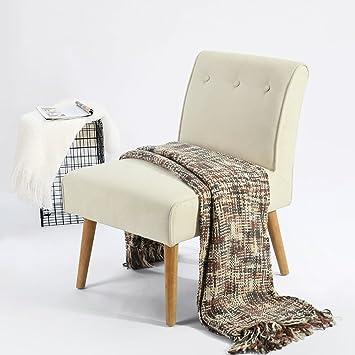 Fanilife: silla Accent, silla de asiento largo en tejido de ...