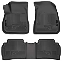Husky Liners Fits 2016-20 Chevrolet Malibu Weatherbeater Front & 2nd Seat Floor...