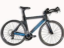 Valdora PHX-2 Carbon Fiber Triathlon Bike Frameset - Medium - Ford Blue Accents
