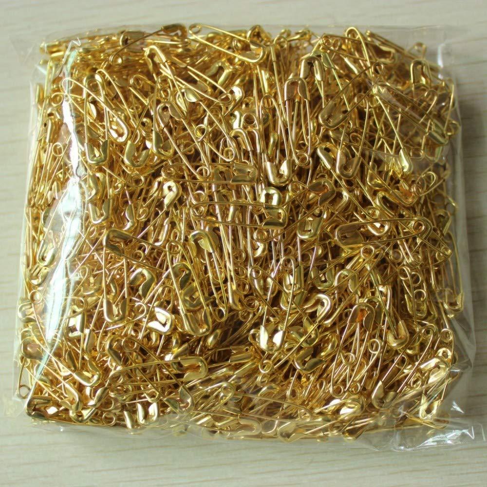 Argento, 19mm Bingpong 1000 Pezzi 19mm Argento Spille di Sicurezza in Acciaio Inox per Gioielli Artigianali trovati Accessori per Cucire Fai da Te Etichetta Distintivo Accessori di Fissaggio