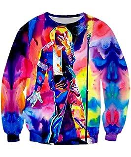 Dorathy Fashion Zipper Hoodie Men Women Pullovers Sweatshirts MJ King of Pop Michael Jackson Joggers Shorts