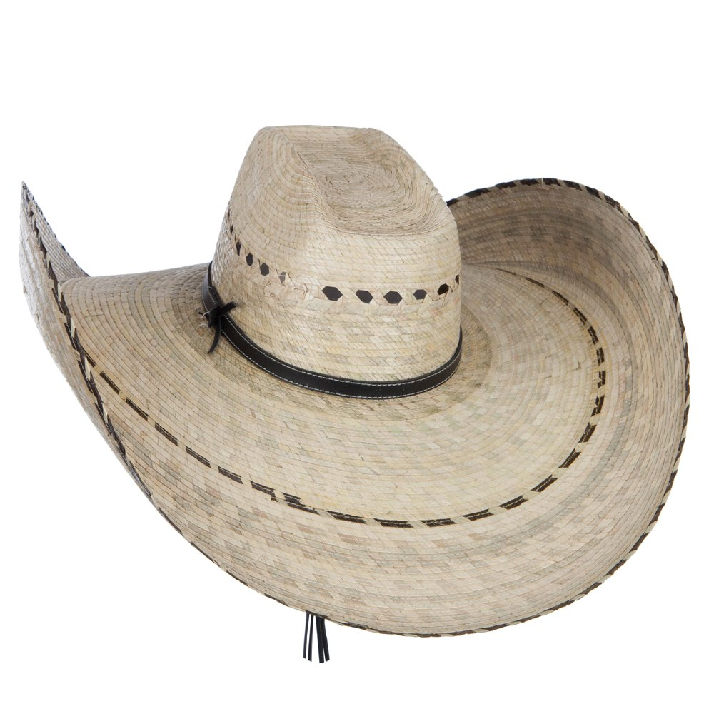 f9ebd43aad344 Mexican Style Wide Brim Straw Hat - Natural OSFM at Amazon Men s Clothing  store