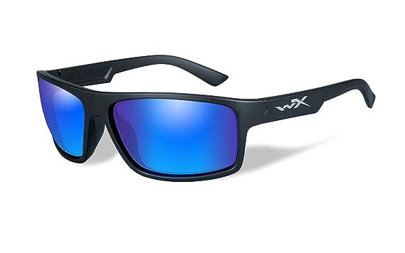 dc427bb6e9e P-17 Black Ops Sunglasses Polarized Emeral Mir Gloss Black Frame
