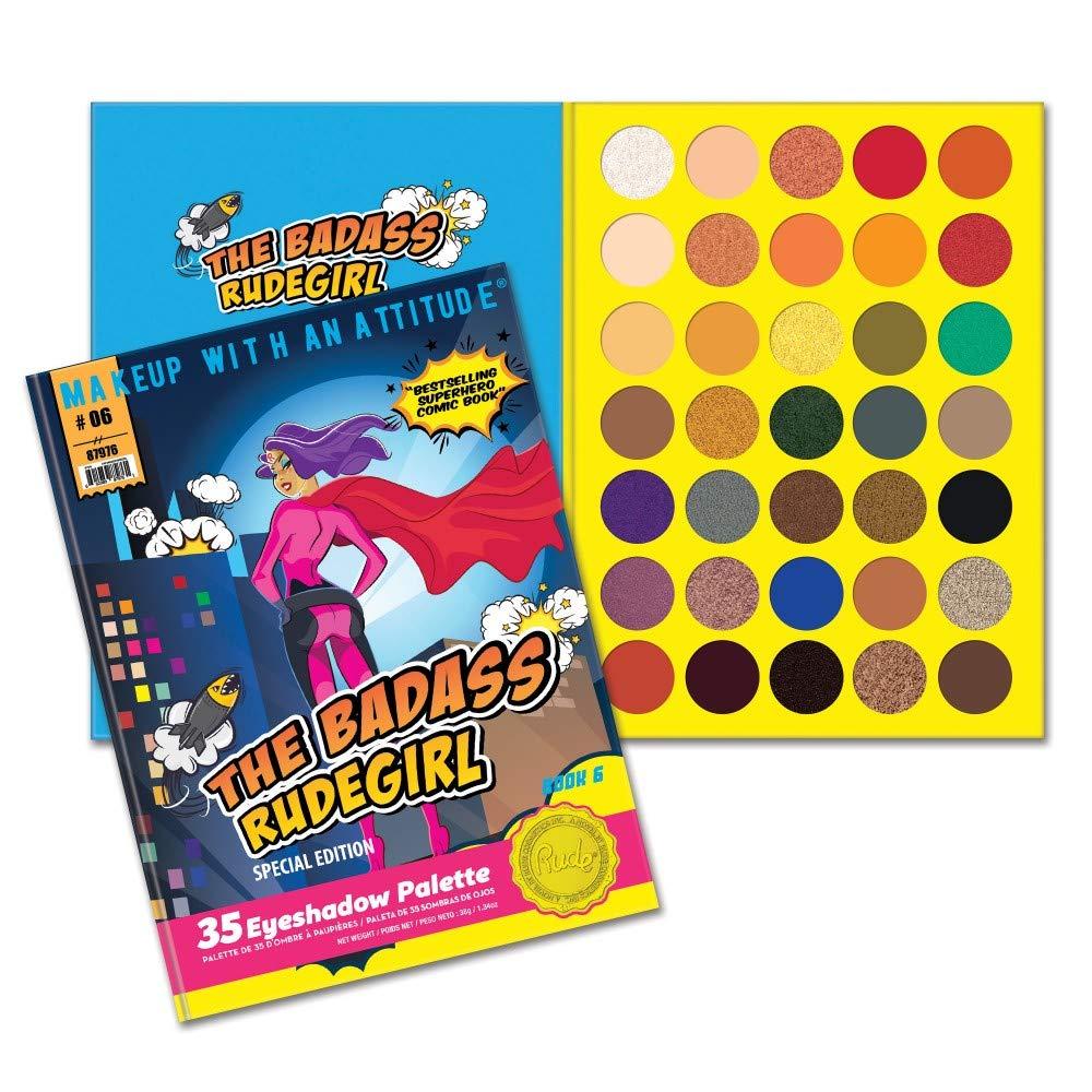 (6 Pack) RUDE The Badass RudeGirl 35 Eyeshadow Palette - Book 6 (並行輸入品) B07L12VBMT