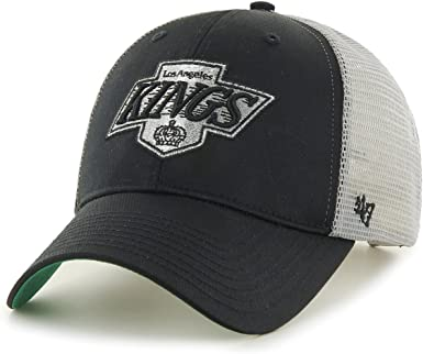 Gorra trucker negra y blanca de Los Angeles Kings NHL MVP Branson ...