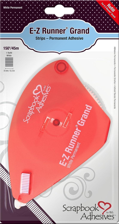3L Scrapbook Adhesives E-Z Runner Grand adesivo permanente, 6,3 x 150' 3 x 150' 01250-6