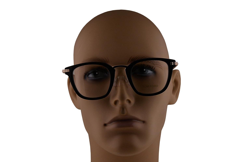Tom Ford FT5496 Eyeglasses 47-23-145 Shiny Black w//Demo Clear Lens 001 TF5496 FT 5496 TF 5496