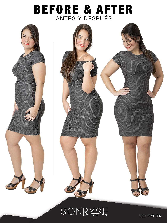 1943f0bbc24 SONRYSE 086 Women Slimming Bra Shapewear Body Shaper l Fajas Colombianas:  Amazon.co.uk: Clothing