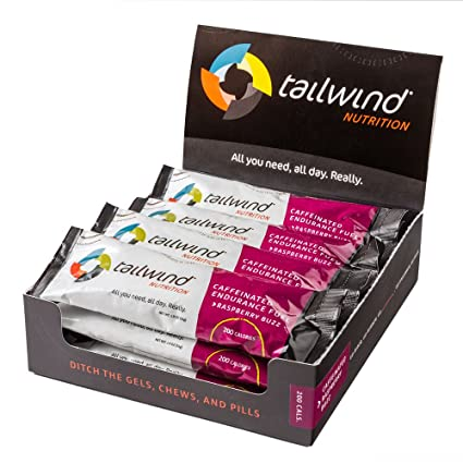 12 Tailwind Nutrition Endurance Stickpack caffeinated Raspberry Buzz Flavour