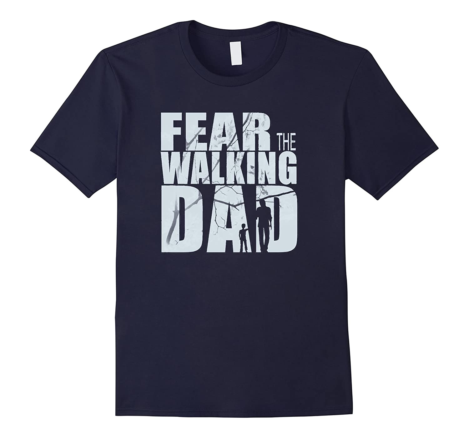 The Walking Dad - Gift Fathers Day T-Shirt-TD