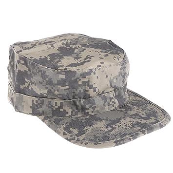 Lamdoo Gorra de Camuflaje Táctica del ejército Visera y Sombreros Planos  para Hombre 4199896b358