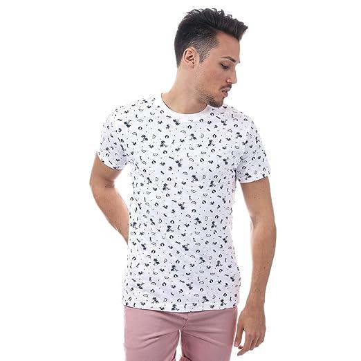 d938ee48e9bb Amazon.com: D-Struct Men's DStruct Billet Tshirt S White: D-Struct ...