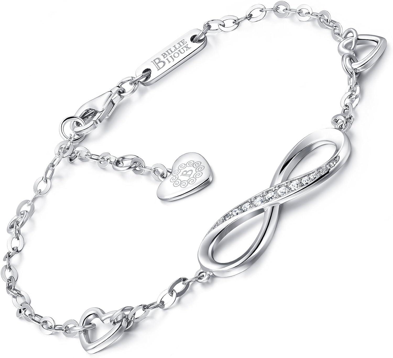 Billie Bijoux Infinity Unendlichkeit Symbol Damen Armband