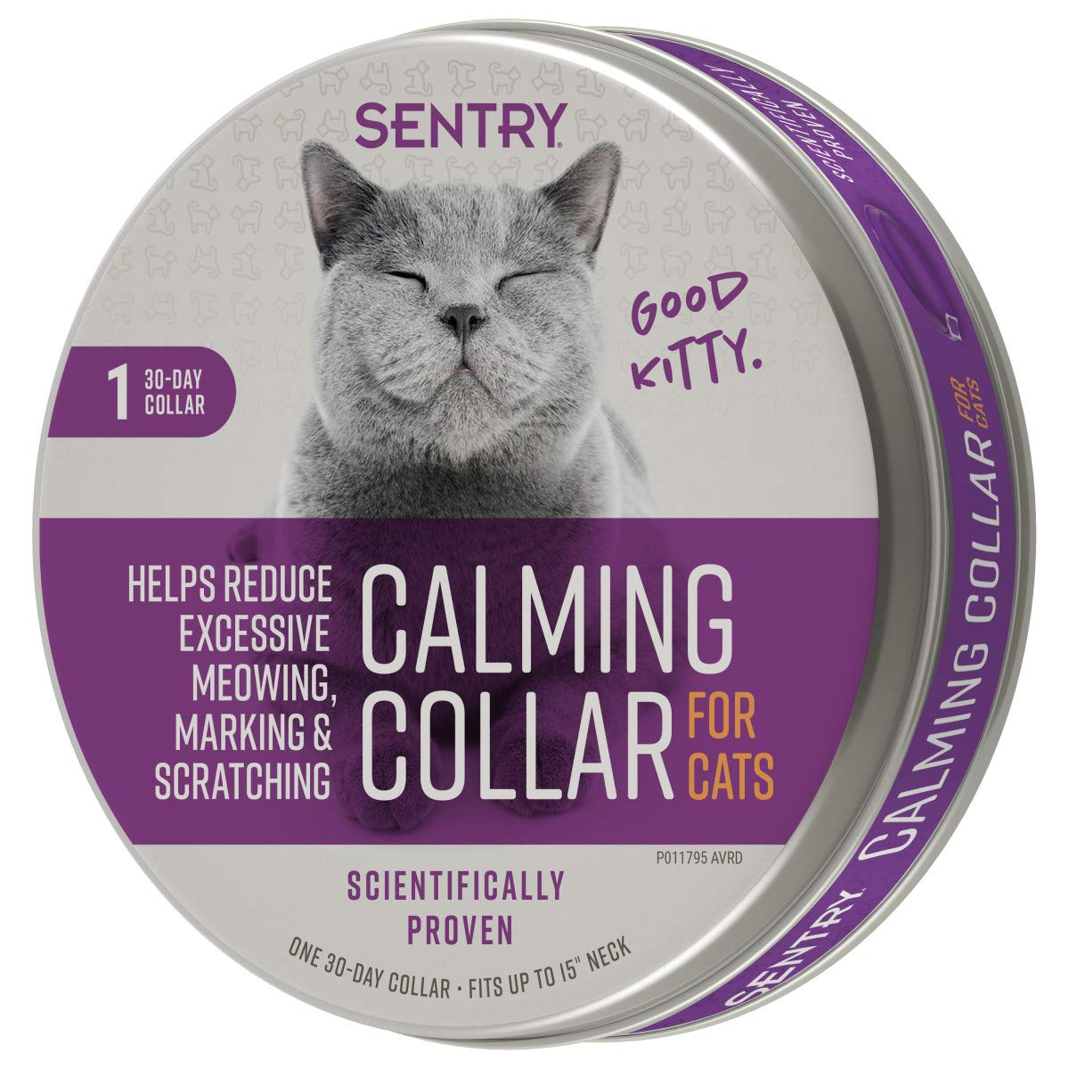 Sentry Calming Collar for Cats 1Ct by SENTRY Pet Care