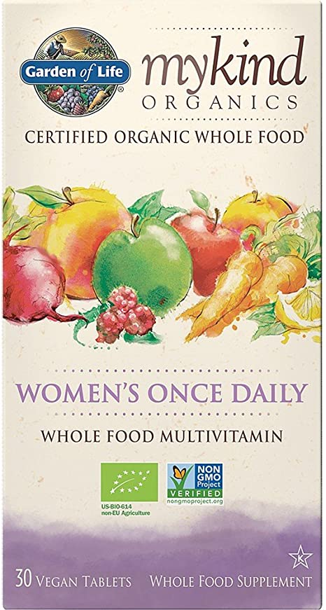 Garden Of Life Mykind Organics Prenatal Once Daily 30 Tablets Amazon Co Uk Health Personal Care