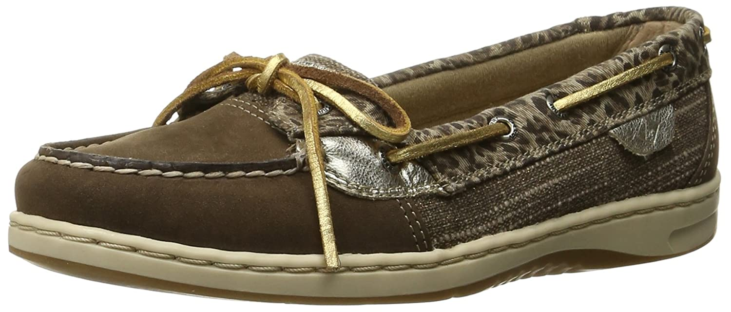 Sperry Top-Sider Womens Angelfish Cheetah Boat Shoe