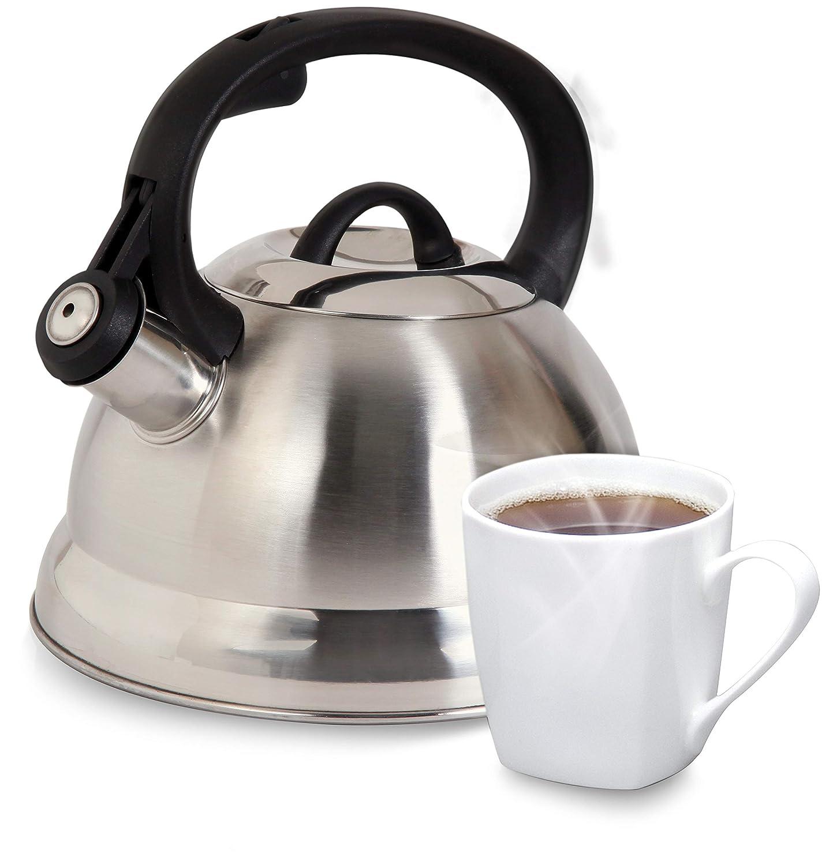 Amazon.com: Hervidor de agua para té con silbido Mr ...