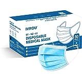 Chirurgische Mondmaskers Ivrou IIR Medische Mondkapjes ST-KZ-01 x 50 stuks | iir Medical Mask x 50 pieces