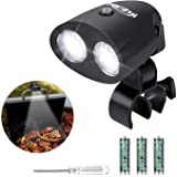 RVZHI Grill Light, Upgraded Waterproof & Heat-Resistant BBQ Light with 10 Super Bright LED Lights, 360° Flexible Rotation Out