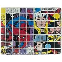 Marvel Grid Collage Bi-Fold Wallet