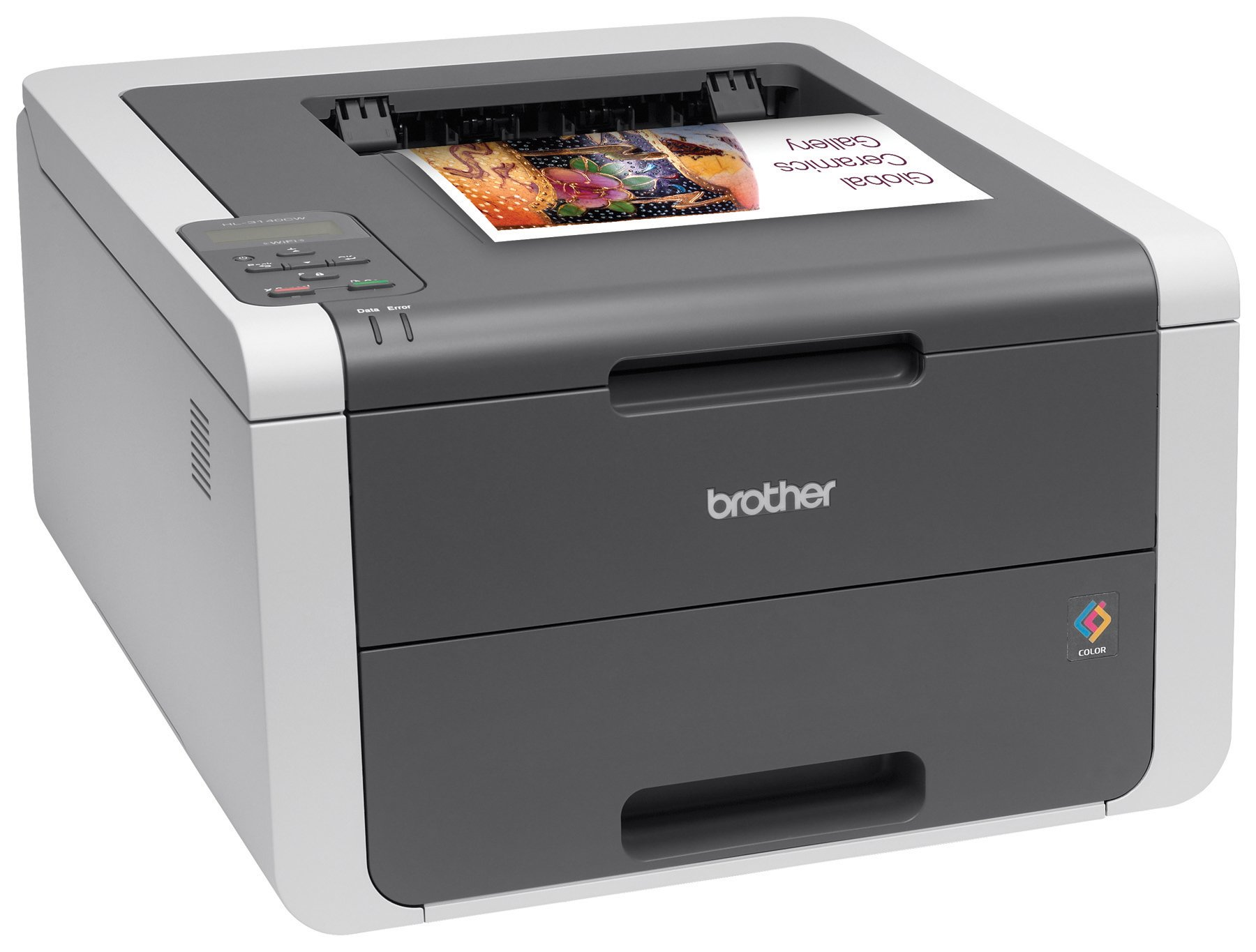 Brother Printer HL3140CW Digital Color Printer with Wireless Networking, Amazon Dash Replenishment Enabled by Brother