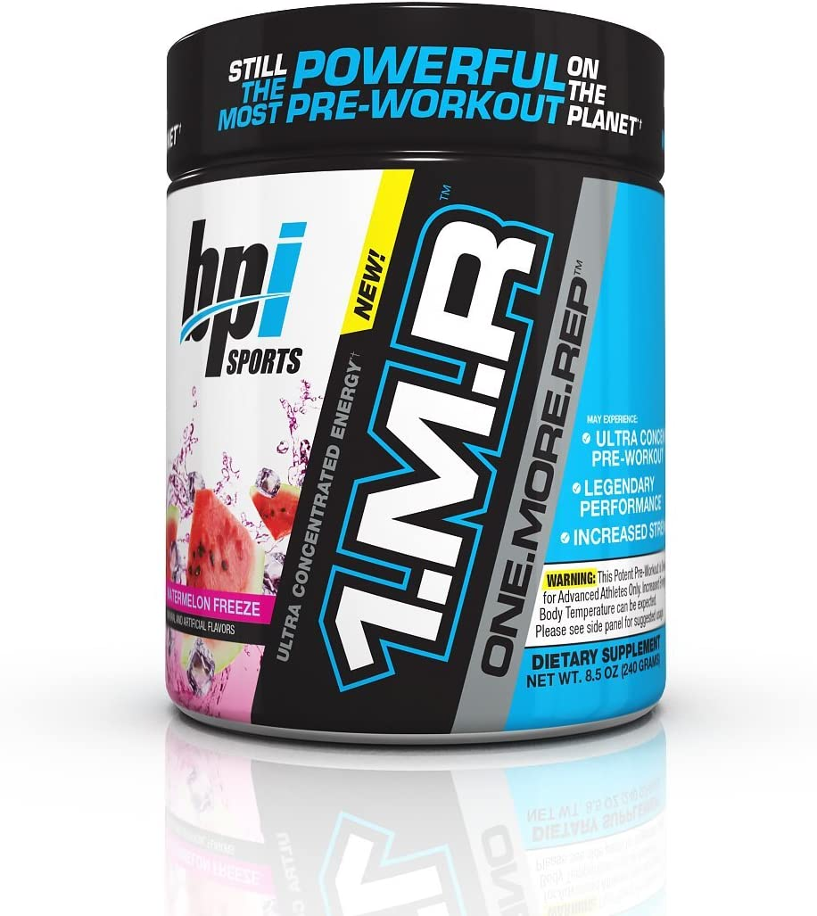 BPI Sports 1MR One More Rep Ultra Concentrated Energy Supplement