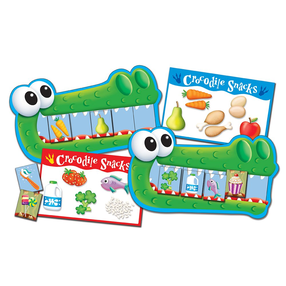The Learning Journey - Match It Game Crocodile Crunch by The Learning Journey - (Image #3)