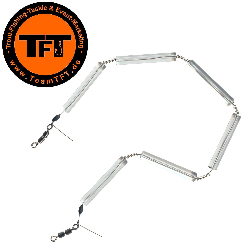 Gewicht für Forelle Glaskette Tremarellaangeln Paladin Sonar Glas-Kette