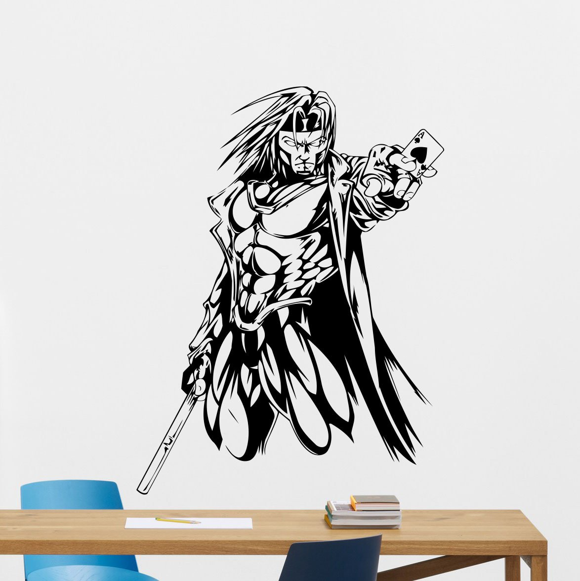 Amazon gambit wall vinyl decal x men marvel comics gambit amazon gambit wall vinyl decal x men marvel comics gambit superhero wall sticker video game gaming wall decor cool wall art kids teen room wall design amipublicfo Gallery