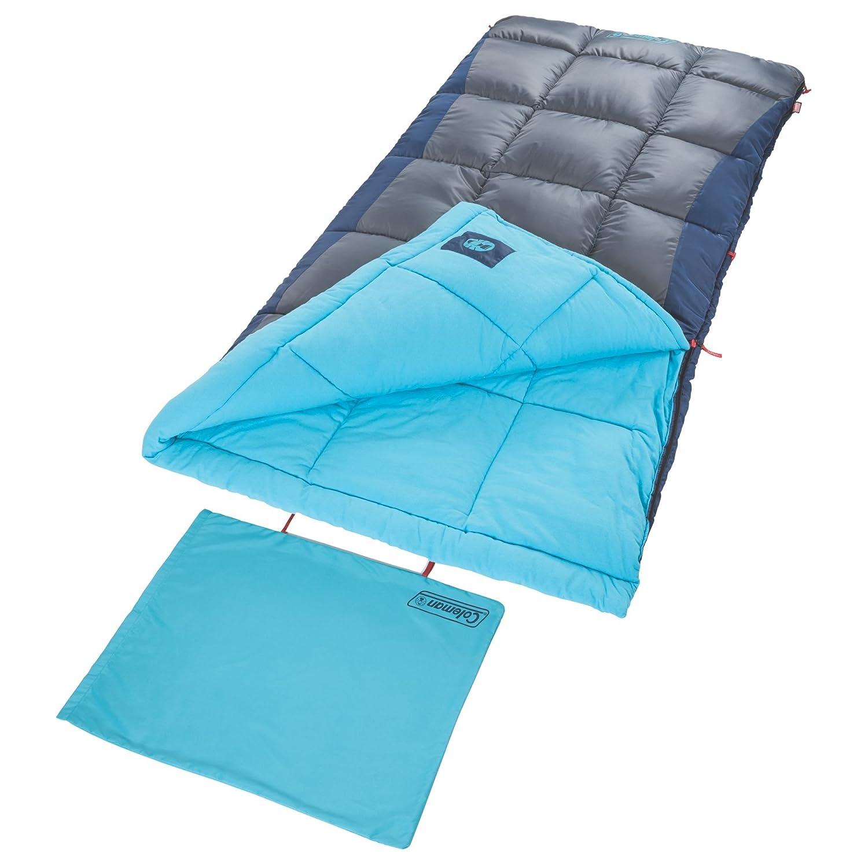 Coleman Heaton Peak Sleepingバッグ B01M8FGMNA  グレー/ブルー