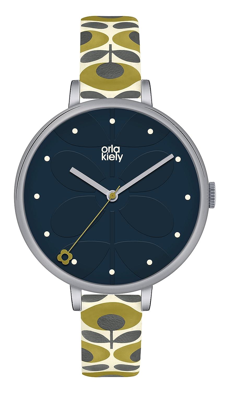 Orla Kiely Damen-Armbanduhr OK2135