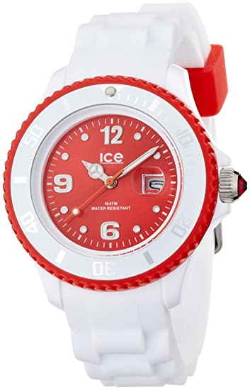WD.B.S.11 - Reloj analógico de cuarzo para hombre con correa de silicona, color blanco, talla grande: Ice-Watch: Amazon.es: Relojes