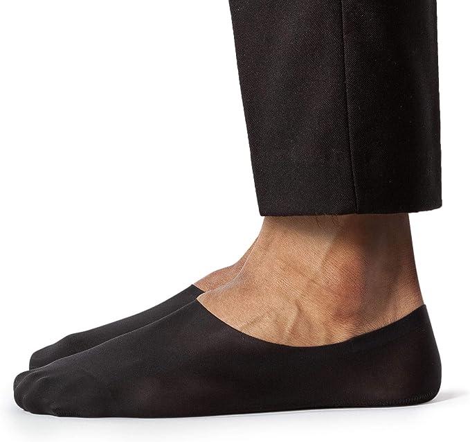MENS SHEEC SOLE HUGGER BLACK ACTIVE NO SHOW NON SLIP SOCKS PACK 3 PAIRS SIZE L